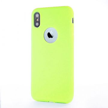 iPhone-X Xs Siliconengeval - Groen van Apple