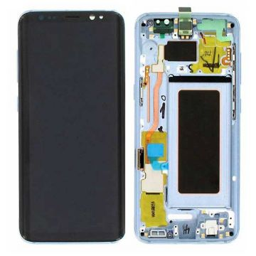 Original quality complete screen for Samsung Galaxy S8 in blue