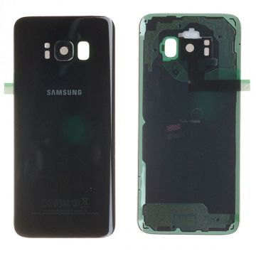 Back side of replacement Black Samsung Galaxy S8
