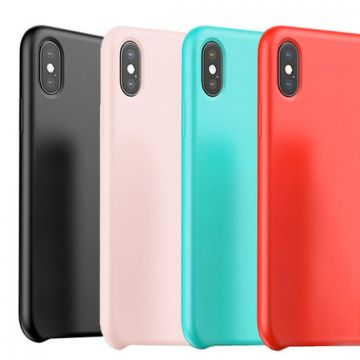 Baseus iPhone X Xs serie Touch Silicone hoesje