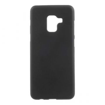TPU case Soft Touch Black Samsung A8 (2018)