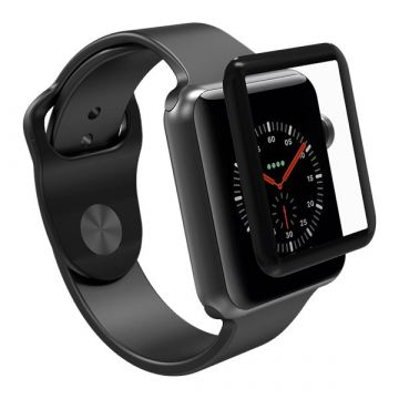 Film protection avant 3D full en verre trempé Apple Watch 42mm
