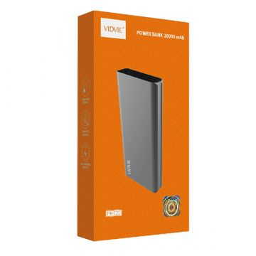 Batterie Externe Power Bank 20.000 mAh Vidvie