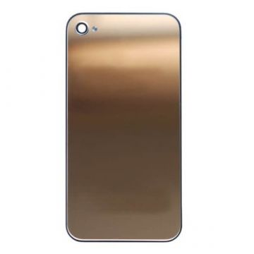 Ersatz Backcover Mirror Gold iPhone 4