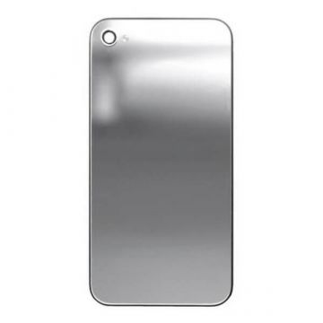 Replacement back cover iPhone 4 Mirror Silver
