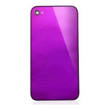 Replacement back cover iPhone 4 Mirror Purple