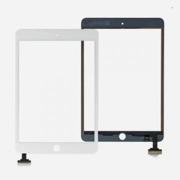 iPad Mini scherm origineel wit zonder IC connector - touchscreen monitor