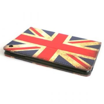 Stand Case in de Vintage UK-Vlag Kleuren iPad Mini