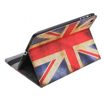 Stand Case in de Vintage UK-Vlag Kleuren iPad 2 & 3