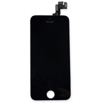 Complete Original Glass digitizer, LCD Retina Screen and Full Frame for iPhone 5S Black