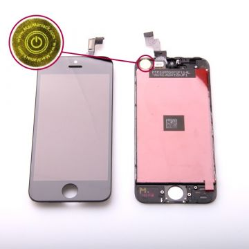 1st Quality Glass digitizer and LCD Retina Screen for iPhone 5S Black