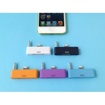 Adaptateur Audio Lightning 30 pin vers 8 pin iPhone 5 / 5S / 5C, iPad Mini, iPod Touch 5, iPod Nano 7