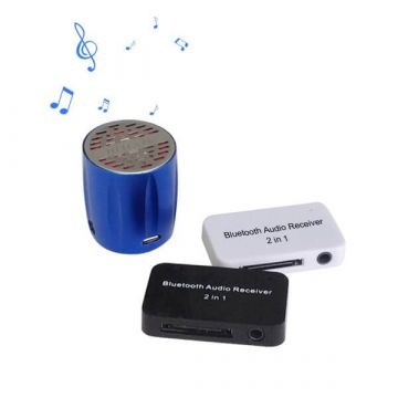 Récepteur Audio Bluetooth 2 en 1