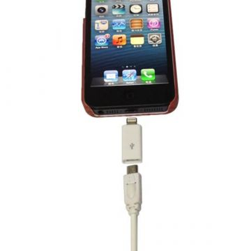 Adapter Lightning 30 pin to Micro USB for iPhone 5, iPad Mini, iPod Touch 5 and Nano 7