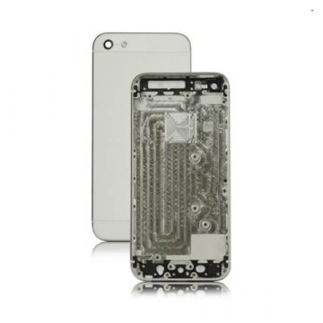 Frame and metallic border for iPhone 5 White