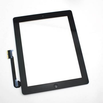 Touch Screen Glass/Digitizer Assembled For iPad 3 Black