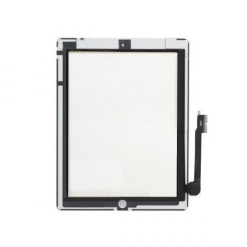 Touch Screen Glas / Digitizer Vergadering voor iPad 2 wit + gratis toolkit