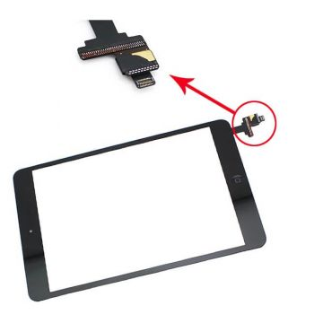 Touchscreen iPad Mini Wit met IC connector