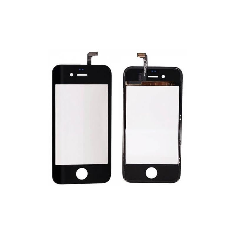 Touch Screen Digitizer with Frame for iPhone 4S Black