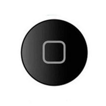 Bouton Home Noir iPad 2
