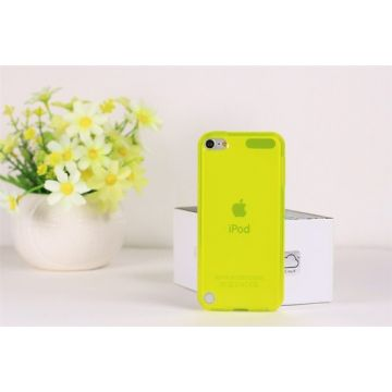 Coque souple TPU Jaune iPod Touch 5