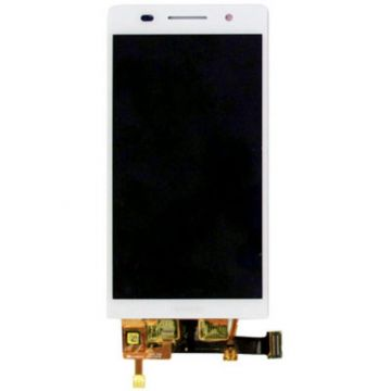 Complete WHITE screen (LCD + Touch) (Official) for Huawei Ascend P6