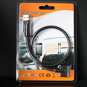 Cable ultra flexible pour iPod iPhone iPad et Mac
