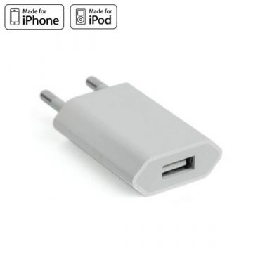 iPhone oplader wit voor iPhone en iPod