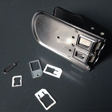 Universal SIM card cutter and adapter Nano SIM and Micro SIM