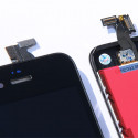 Original Glass Digitizer & LCD Screen & Full Frame for iPhone 4S Black