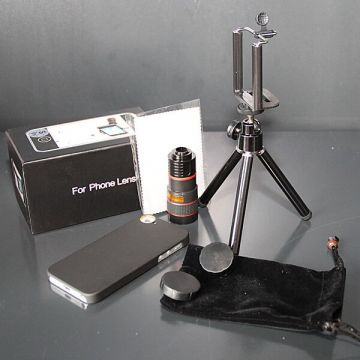 Telescope Zoom X8 with case for iPhone 5/5S/SE