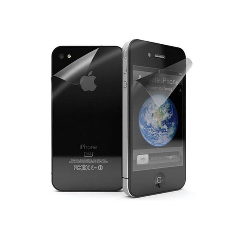 Screen Protector front & rear Mat iPhone 4/4S