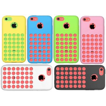 Silicone soft hoes iPhone 5C