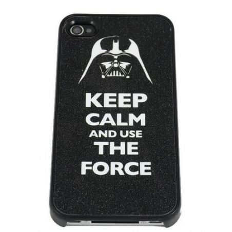 Keep calm and use the force hard cover case iPhone 4 4S