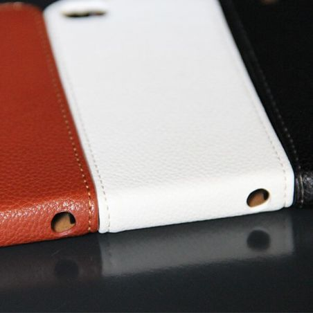 Leather look Cover iPhone 5 5S