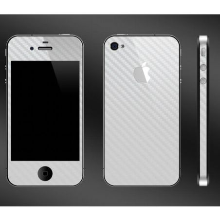Skin autocollant protection look Carbon IPhone 4