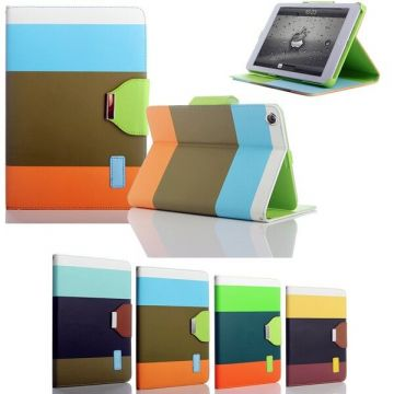 Rainbow Portfolio Stand Case iPad Mini