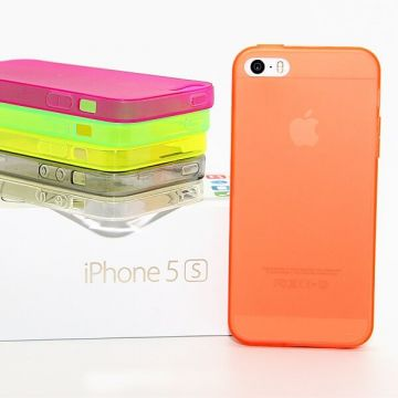 Cover in dun TPU voor iPhone 5/5S/SE