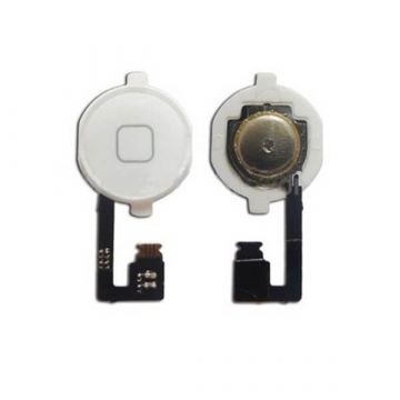 Flex home button and button for iPhone 4 white