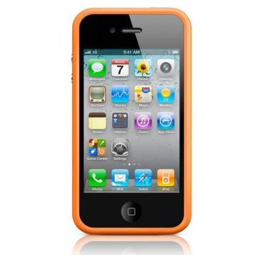 Bumper - Contour TPU Orange IPhone 4 & 4S