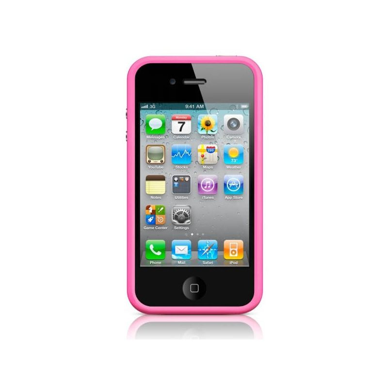 Bumper TPU for iPhone 4 & 4S Pink