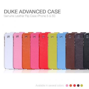 Hoco Colour Leather Case iPhone 5/5S/SE