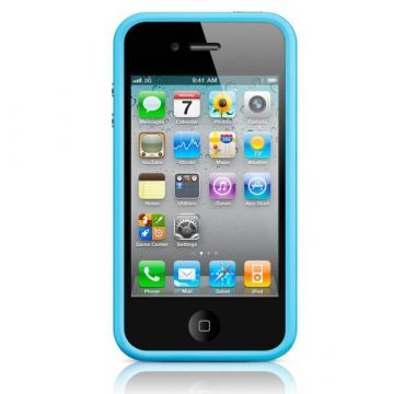 Bumper TPU for iPhone 4 & 4S Blue