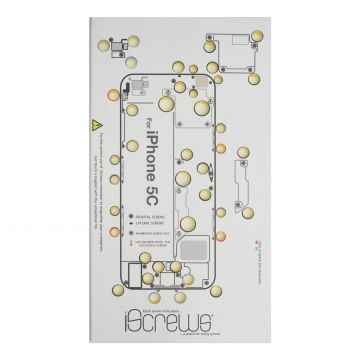 iScrews Hole distribution board for iPhone 5C