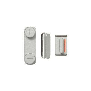 Set of 3 buttons (mute - volume - power) for iPhone 4 & 4S