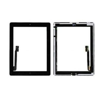 Touch Screen Glass/Digitizer Assembled For iPad 4 Black