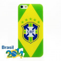 Brazilian Flag World Cup Case for iPhone 4 4S