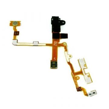 Flex Jack, power, volume, mute for iPhone 3G 3Gs black