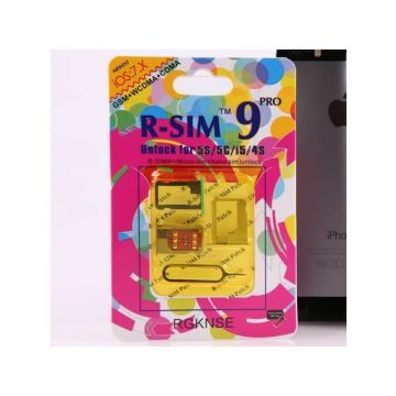 R-SIM 9 pro - Operator Activation and Releasing iPhone 4S - 5 - 5C - 5S