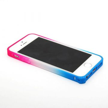 Blue and Pink Gradient Bumper iPhone 5/5S/SE